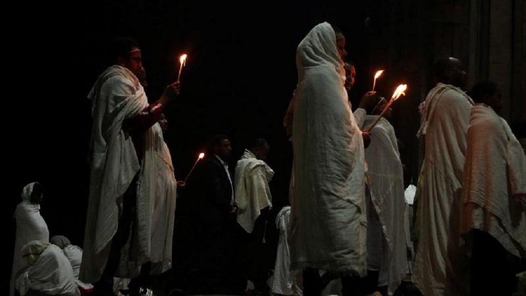 Ethiopian Orthodox faithful observe Easter rites in Addis Ababa 6