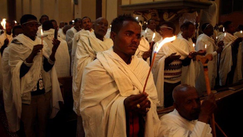 Ethiopian Orthodox faithful observe Easter rites in Addis Ababa 8
