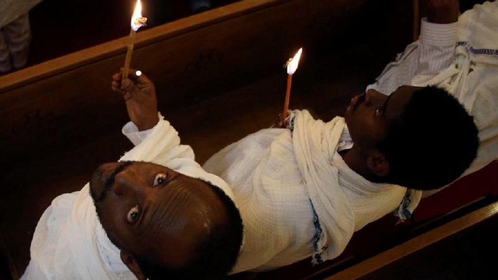 Ethiopian Orthodox faithful observe Easter rites in Addis Ababa 9