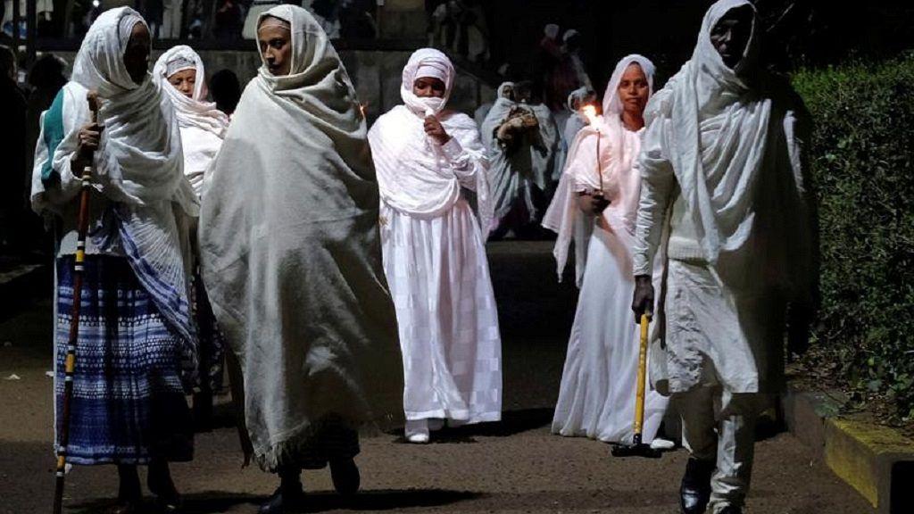 Ethiopian Orthodox faithful observe Easter rites in Addis Ababa 11