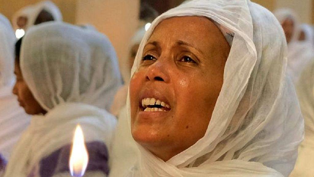 Ethiopian Orthodox faithful observe Easter rites in Addis Ababa 13
