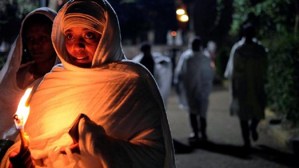Ethiopian Orthodox faithful observe Easter rites in Addis Ababa 15