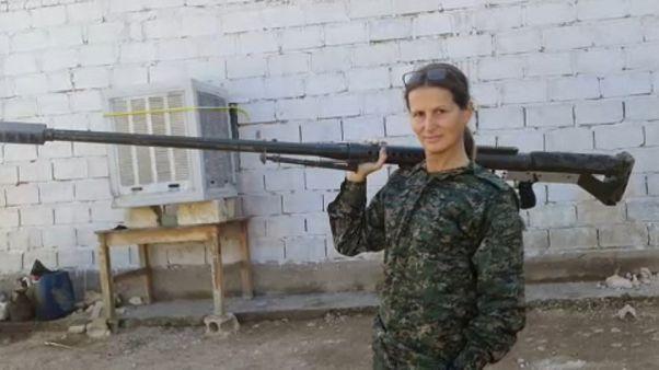 Accanto alle forze curde per combattere Daesh e difendere Afrin