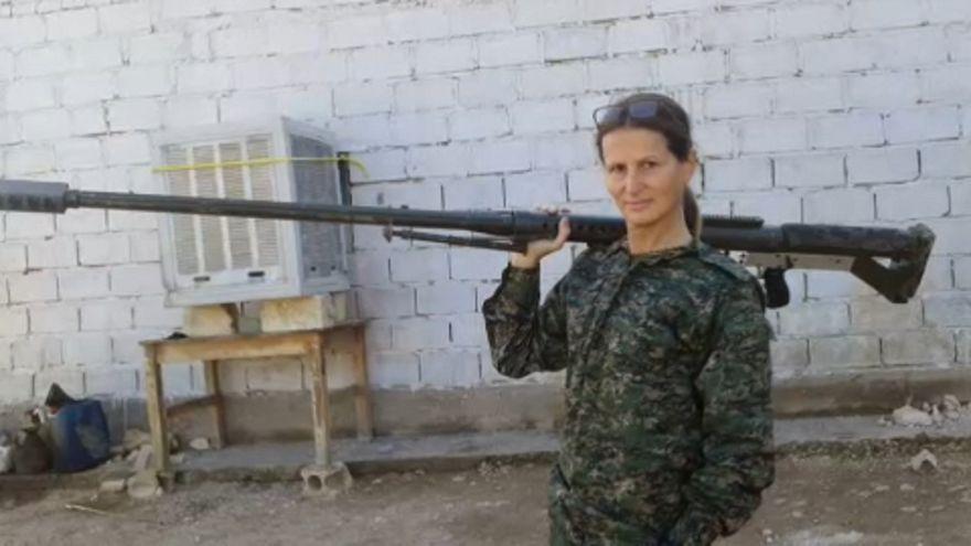 Nyugat-európai önkéntesek Szíriában