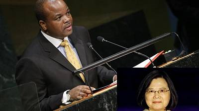 Swaziland to host Taiwan president as diplomatic struggle with China continues