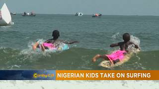 Surfing in Nigeria: kids tackle the waves [The Morning Call]