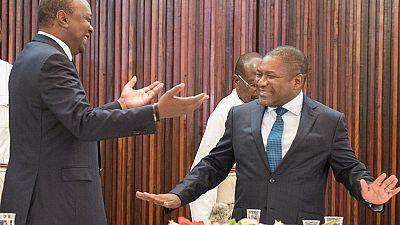 Kenyan president scraps visa requirement for Mozambique