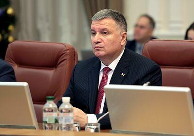 Minister of Internal Affairs of Ukraine Arsen Avakov attends a regular Wednesday meeting of the government in Kyiv, Ukraine on Jan. 15, 2020.