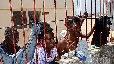 Des migrants Africains détenus, coincés dans un Yémen en guerre