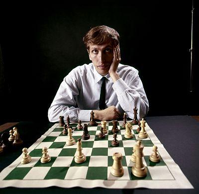 Bobby Fischer in 1971.