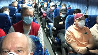 Image: U.S. passengers on board the Diamond Princess cruise ship, who have