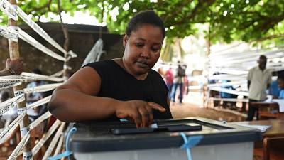 Voting underway in Sierra Leone run-off