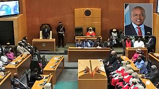 Botswana swears in its 5th leader, President Mokgweetsi Masisi