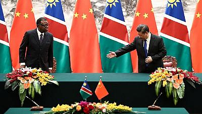 Africa-China relations has no colonisation motives - Namibia president