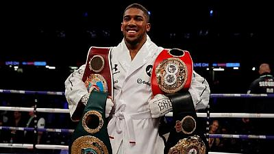 U.K. boxer Anthony Joshua wins WBO belt as undefeated feat continues
