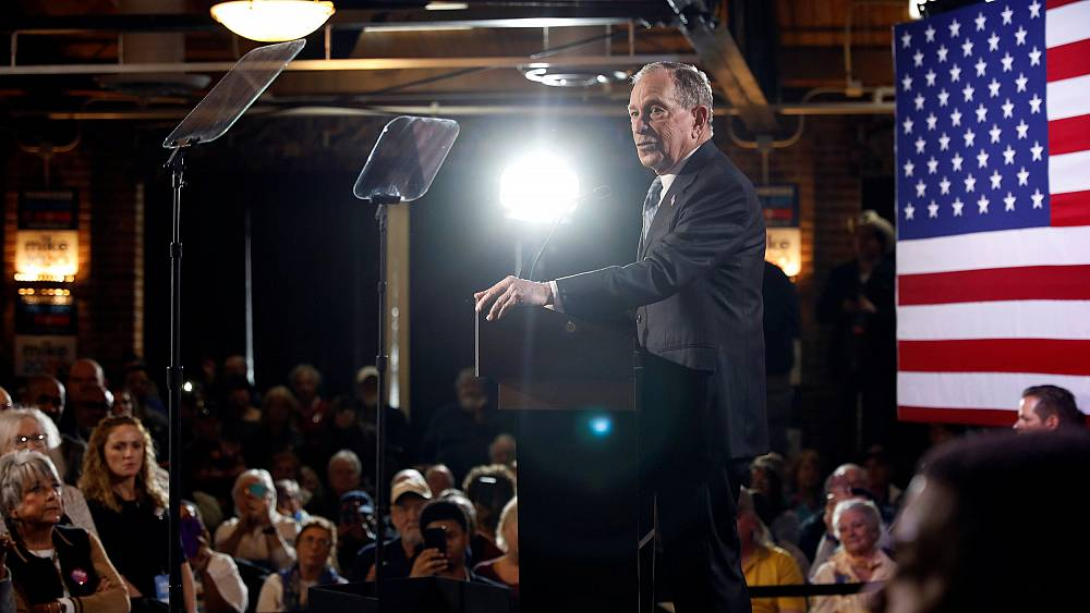 Mike Bloomberg bets on zigging while other presidential...