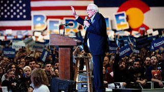Image: US-POLITICS-VOTE-DEMOCRATS-SANDERS