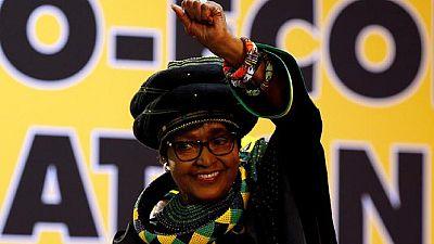S. African anti – apartheid heroine Winnie Madikizela – Mandela dies