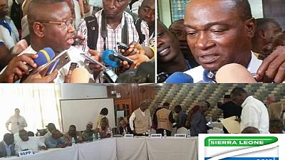 Sierra Leone NEC resumes tallying after parties agree on system of compiling final results