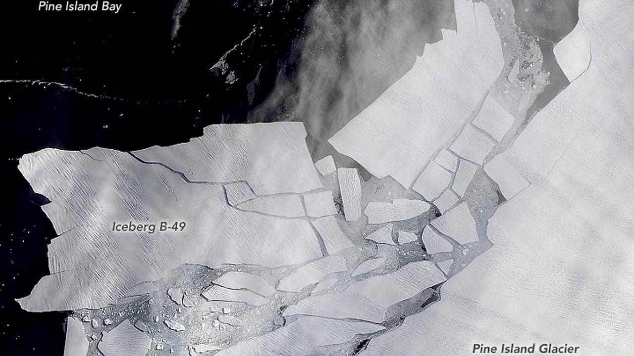 Image: Iceberg B-49