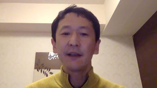 Image: Professor Kentaro Iwata, an infection control specialist at Kobe Uni