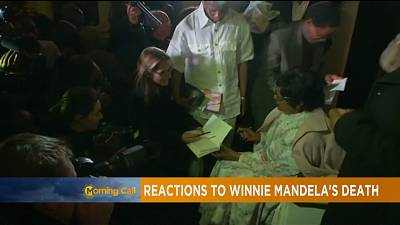 Winnie Mandela tire sa révérence [The Morning Call]