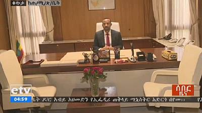 Ethiopia Prime Minister Abiy Ahmed receives global congratulations
