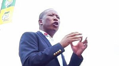 Winnie Mandela should have been president, says S. Africa's Malema
