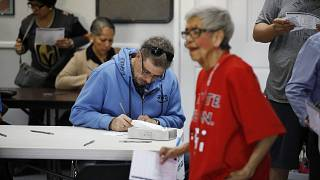 Image: Union vote