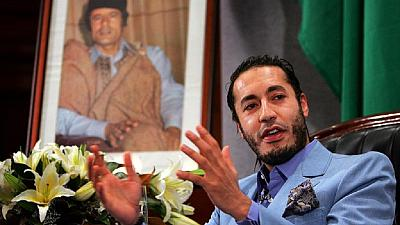 Libyan court clears Gaddafi son of footballer's murder