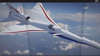 NASA unveils its supersonic X plane