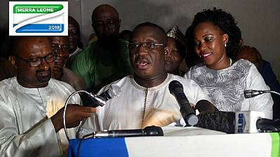 Sierra Leone: le nouveau président pour l'unité nationale