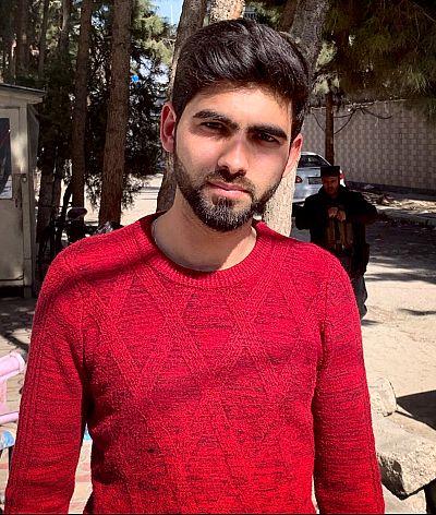 Hameedullah Azizi.