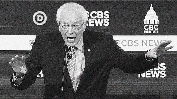 Image: Democratic 2020 U.S. presidential candidate Senator Bernie Sanders s