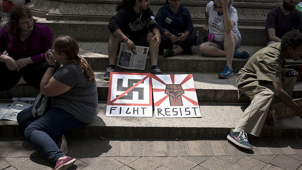 """Los neonazis acusados en un esquema de """"aplastamiento"""" que atacó al ex jefe del DHS Kirstjen Nielsen 37"""