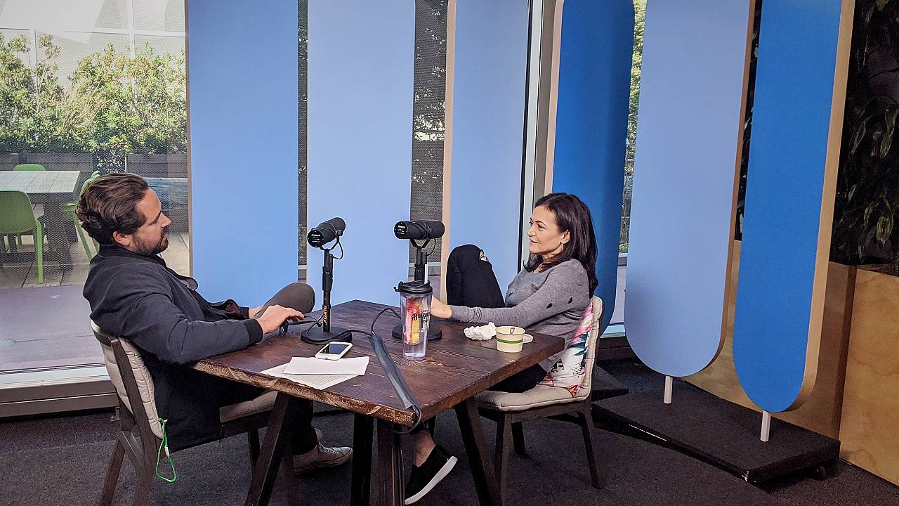 Dylan Byers sits down for an interview with COO of Facebook Sheryl Sandberg