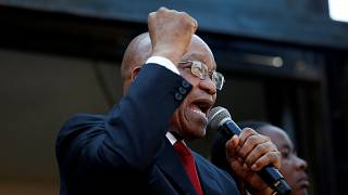 Zuma proclaims innocence after court date