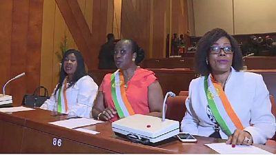 Les sénatrices ivoiriennes veulent plus d'élues