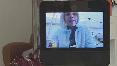 Un robot connecté pour les enfants malades