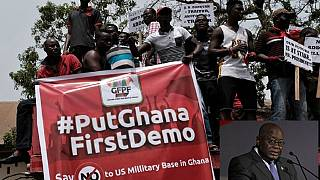 Ghana president blasts critics of U.S military deal, insists its good for regional peace