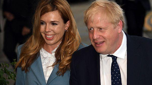 Boris Johnson announces engagement to pregnant partner Carrie Symonds
