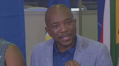 Maimane re-elected leader of the Democratic Alliance