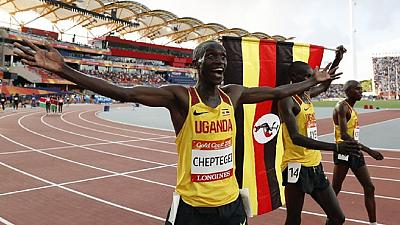 Museveni leads celebrations of Uganda's first gold medal at 2018 Commonwealth Games