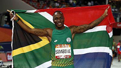 Commonwealth Games 2018: Simbine upstages Blake in 100-metre dash