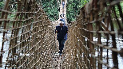 Congo-Gabon : quand la fibre optique se fête sur le pont de Poubara