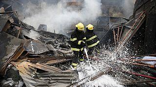 Nigeria : un incendie ravage un camp de déplacés de Boko Haram, 14 blessés