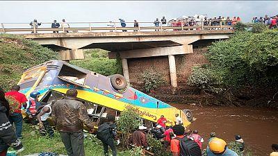 Kenya : 17 morts et des dizaines de blessés dans un accident de la route