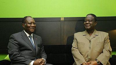 Côte d'Ivoire : Ouattara et Bedié enfin d'accord pour la création d'un parti unifié