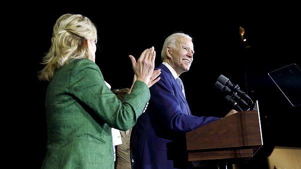 Joe Biden Holds Super Tuesday Rally