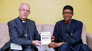 [Photos] Nigeria's Buhari meets Archbishop of Canterbury in London